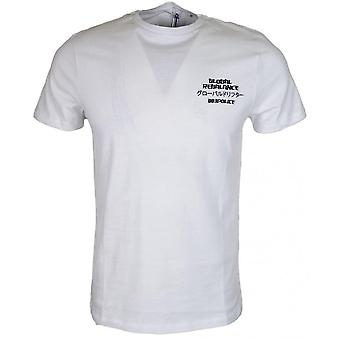 883 Police Bard Exclusive Slim Fit White T-shirt