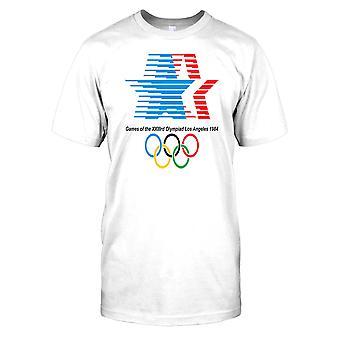 Yhdysvallat Los Angelesin olympialaiset 1984 Miesten T-paita