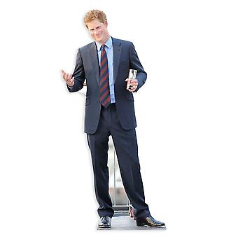 Prins Harry Lifesize Cardboard knipsel / Standee / Standup