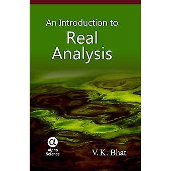 En introduktion till verklig analys av V. K. Bhat - 9781842657058 bok
