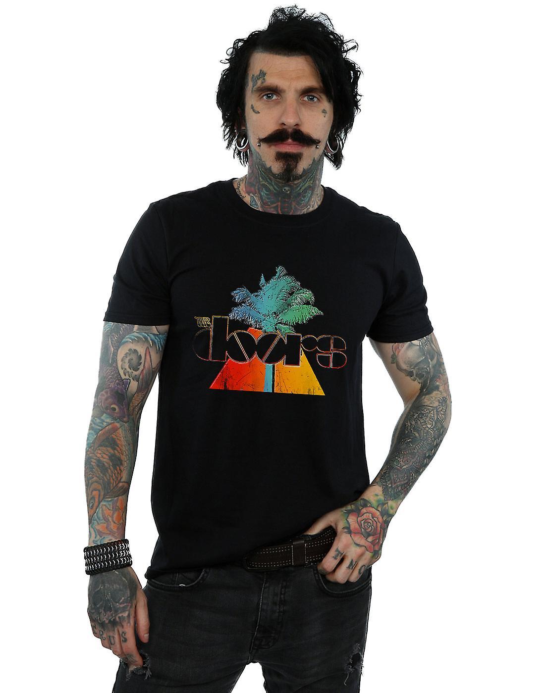 The Doors Men's Palm Triangle T-Shirt