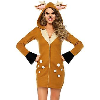 Cozy Deer Adult Costume