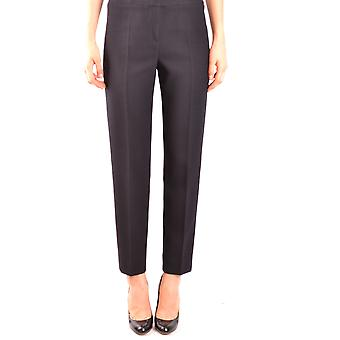 Armani Collezioni Ezbc049037 Women's Black Wool Pants