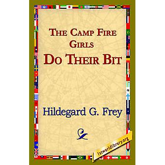 Camp Fire jenter gjøre noe av Frey & Hildegarde Gjertrud