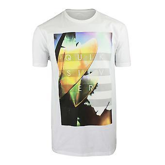 Quiksilver Mens Hoyo Fins T-Shirt - White