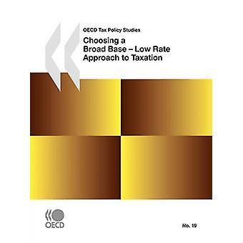 OECD 発行による税制への広範な基本低金利アプローチの選択