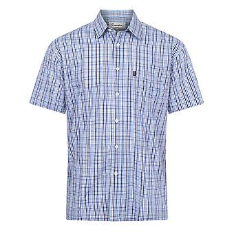 Champion Mens Poole Country Casual Short Sleeve Shirt