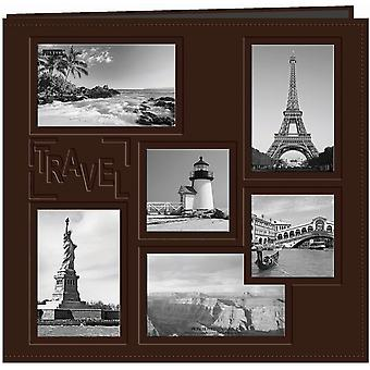 Pioneer Embossed Collage Frame Post Bound Album 12