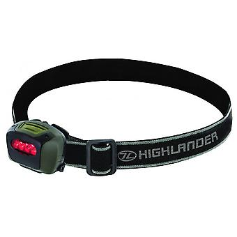 Highlander Mira Adjustable LED Bright Camping Head Lamp