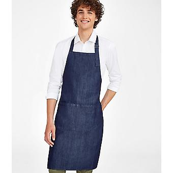 SOLS Grant Denim Bib Apron With Pocket