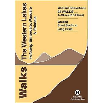 Walks the Western Lakes by Richard Hallewell - 9781872405315 Book