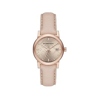 Burberry Bu9131 Rose Dial Rose Gold Ion-plated Ladies Watch