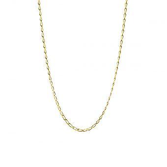 Eternity 9ct Gold 18'' Diamond Cut Rada Curb Chain