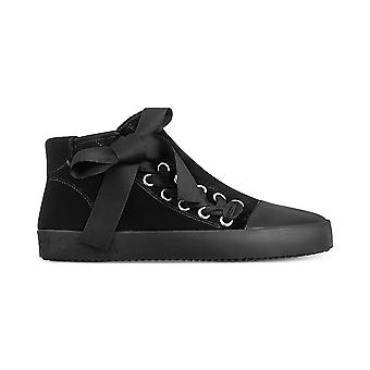Avec Les Filles Womens valerie Hight Top Lace Up Fashion Sneakers