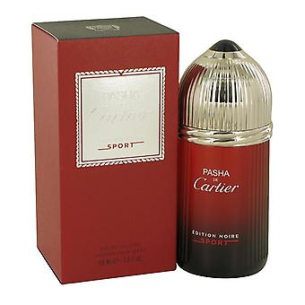 Pasha de cartier noire sport eau de toilette spray by cartier 538869 100 ml