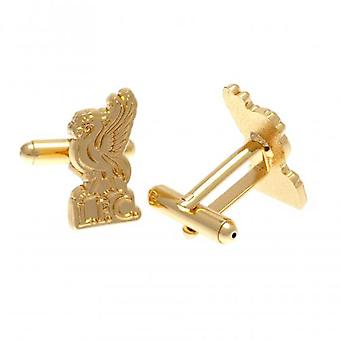 Liverpool Gold Plated Cufflinks LB