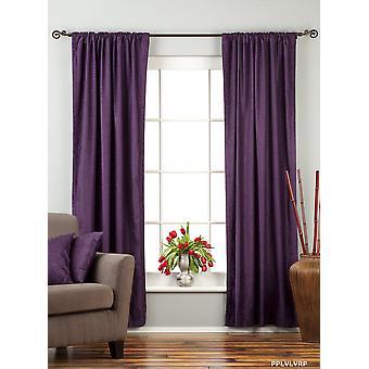 Purple tringle rideau de velours poche / Drape / panneau - pièce