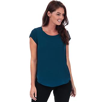 Womens Only Vic Short Sleeve Top in Gibraltar sea.