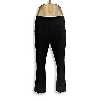 Denim & Co. Leggings Active Legging Pockets Black A309445