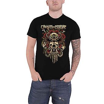Crown The Empire T Shirt Sacrifice Band Logo new Official Mens Black