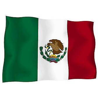 Sticker Autocollant Drapeau Exterieur Vinyle Voiture Moto Mexique Mexicain