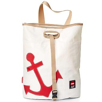 360 degree bag tender white with anchor red canvas bag