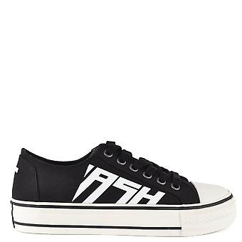 Ash VIKI Trainers Black Canvas