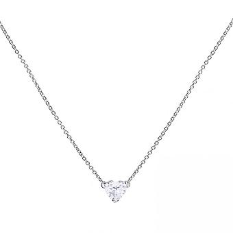 Diamonfire Zircona Small Heart Necklace N4265