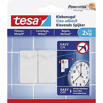 tesa Tesa ® Adhesive nail White Content: 2 st(er)