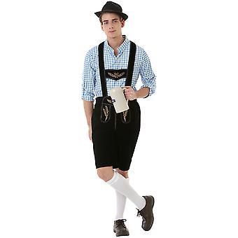 Boisterous Bavarian Adult Costume, XL