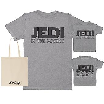 Jedi In The Making Maternity Hospital Gift Set Bag - T-Shirts set