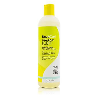DevaCurl Low-Poo Delight (Weightless Waves Mild Lather Cleanser - For Wavy Hair) 355ml/12oz