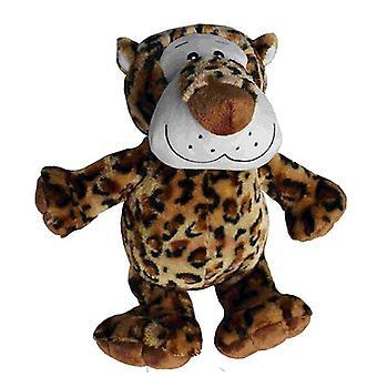 "Petlou Medium Plush Leopard 8"" - Dog Toy"