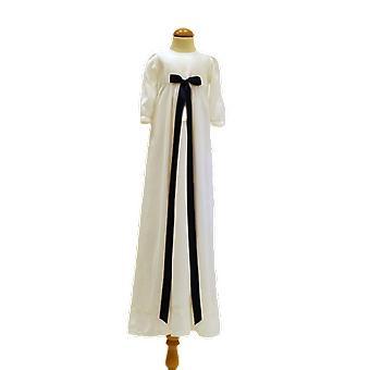 Dopklänning Med Marinblå Rosett, Grace Of Sweden Pr.la