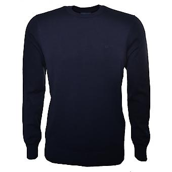 Armani Jeans Men's Dark Blue Jumper