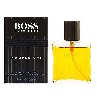 Boss no 1 par hugo boss pour hommes 1.6 oz eau de toilette spray