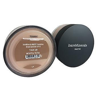 Bareminerals matte foundation spf 15 .21 oz. tan 19