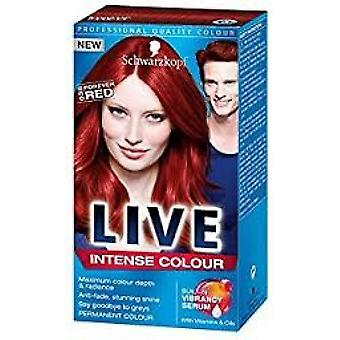 Schwarzkopf Live Intense Hair Colour - Scandalous Scarlet (033)