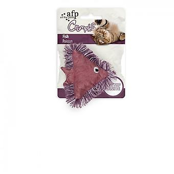 AFP Pez Púrpura Crumples (Gatos , Juguetes , Peluches y plumas)