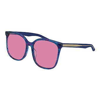 Balenciaga BB0018SK 004 نظارات شمسية فاتحة زرقاء / وردية