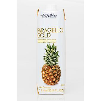 Faragello Gold Premium Ananas -( 1 Lt X 12 Bouteilles )