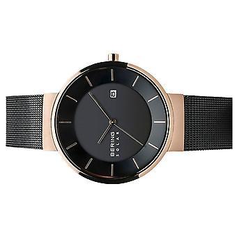 Bering Mænds Watch Armbåndsur Solar - 14639-166 MeshBand