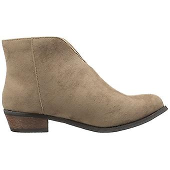 Dirty Laundry Womens chirystal Suede Almond Toe Ankle Fashion Boots