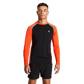 Abare 2b hombres Realize ligera manga larga corriendo camiseta