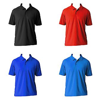 AWDis Cool Mens SuperCool Sports Performance Short Sleeve Polo Shirt
