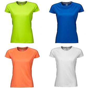Tee Jays Womens/Ladies Cool Dry Short Sleeve T-Shirt