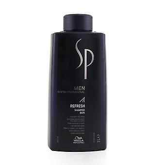 Wella Sp Men Refresh Shampoo (voor haar en lichaam) - 1000ml/33.8oz