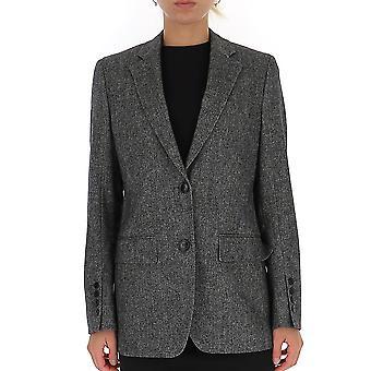 Burberry 8014168a2977 Damen's Graue Wolle Blazer