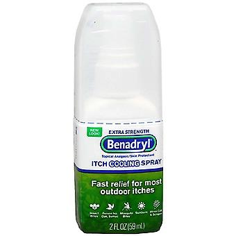 Benadryl Itch Relief spray, Extrastärke, 2 Unzen