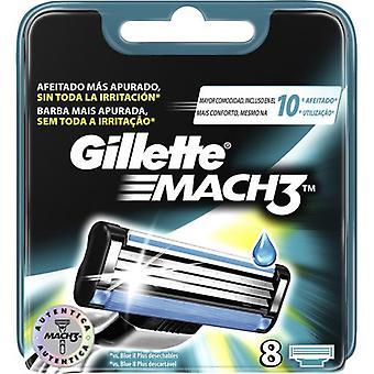 Gillette Mach3 Vaihto 8 yksikköä